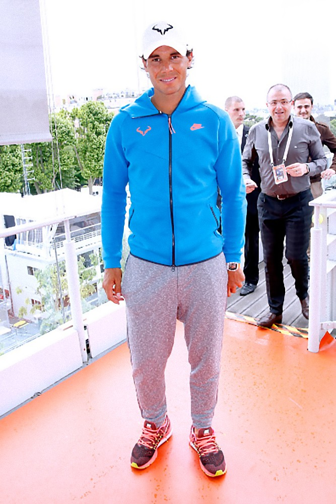 Photos Video Rafael Nadal S Interview For France 2 Channel In Paris 31 May 2015 31 Maya 2015 Rafa Nadal King Of Tennis